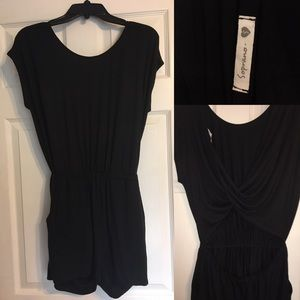 Soprano romper with open lower back, small
